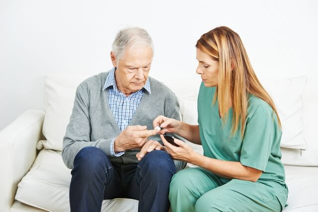 Caring for Your Senior Who Has Diabetes