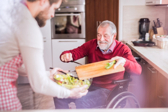 Making the Kitchen Safe and Friendly for Seniors